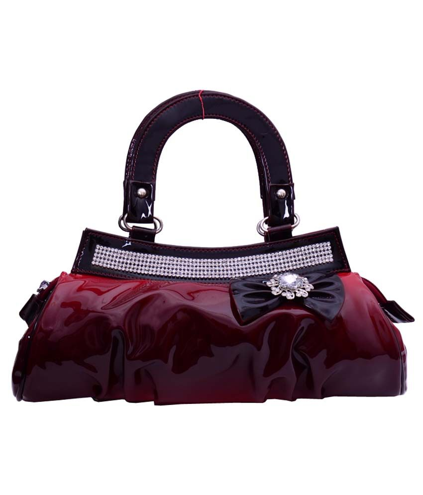 Hysty Red Fashionable Trendy Hand Bag
