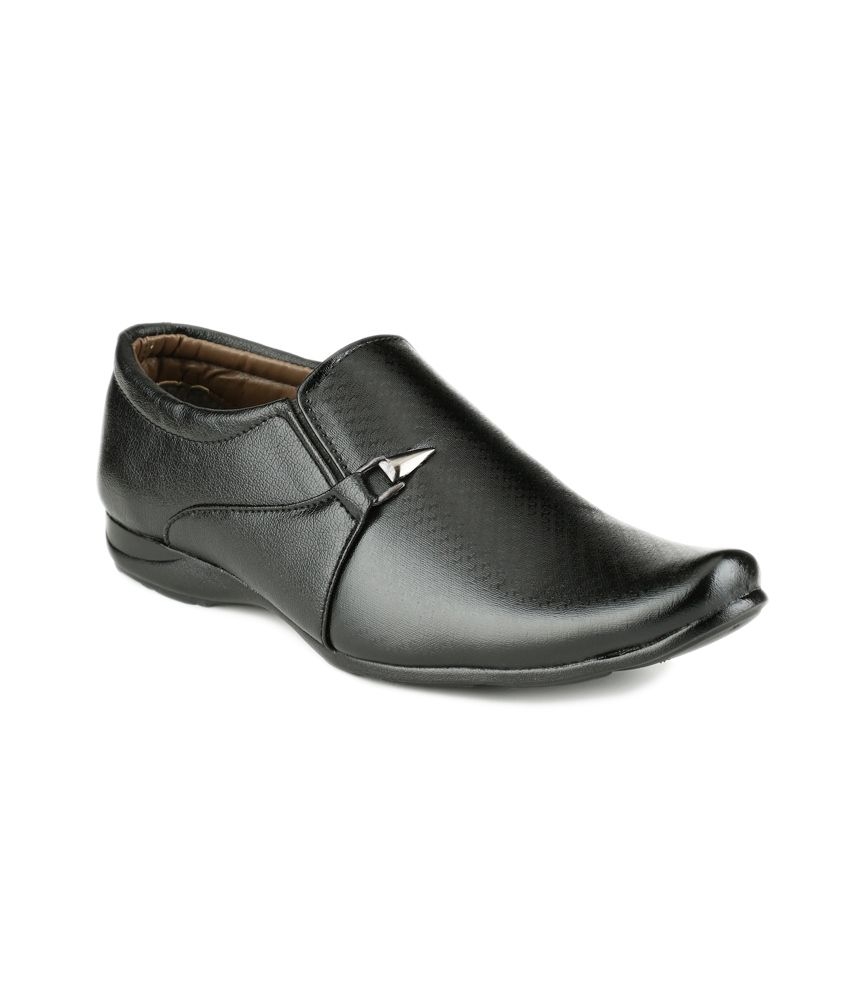 Mactree Black Formal Shoes ...