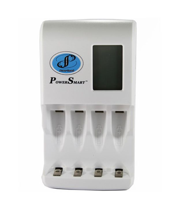 Power-Smart-Fast-Cell-Charger-With-Usb-Port-(for-Ni-mh-Aa/aaa-Rechargeable-Batteries)