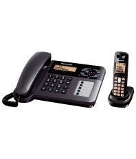 Panasonic Kx-Tg3651Bx2 Cordless Telep...