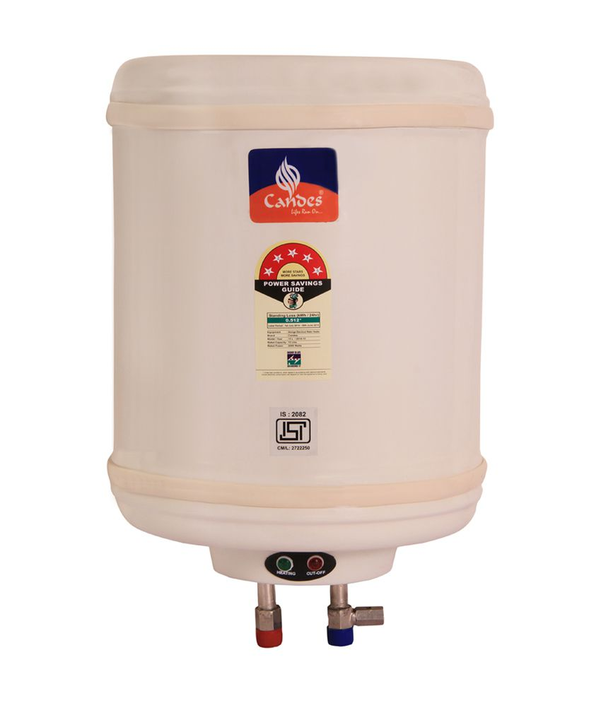 Candes Metal 10 Litres 500 W Storage Water Geyser