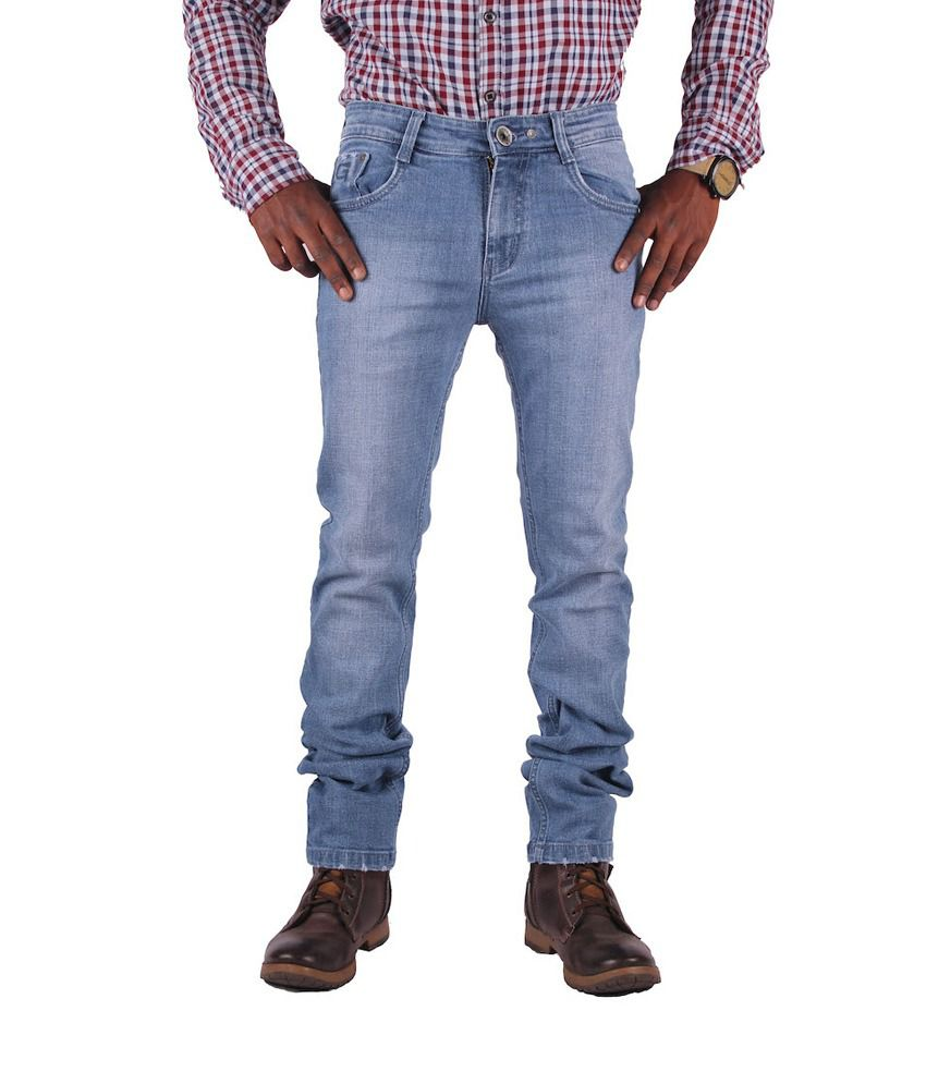 Gasconade Grinding Blue Slim Fitted Jeans