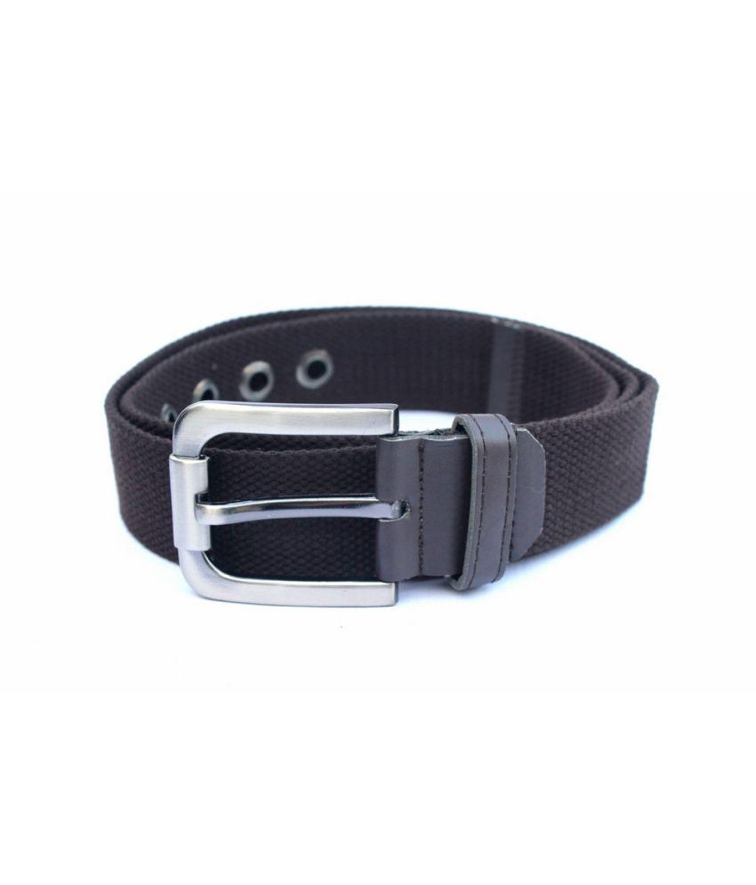 IMP Black Pin Buckle Canvas Belts ForMen