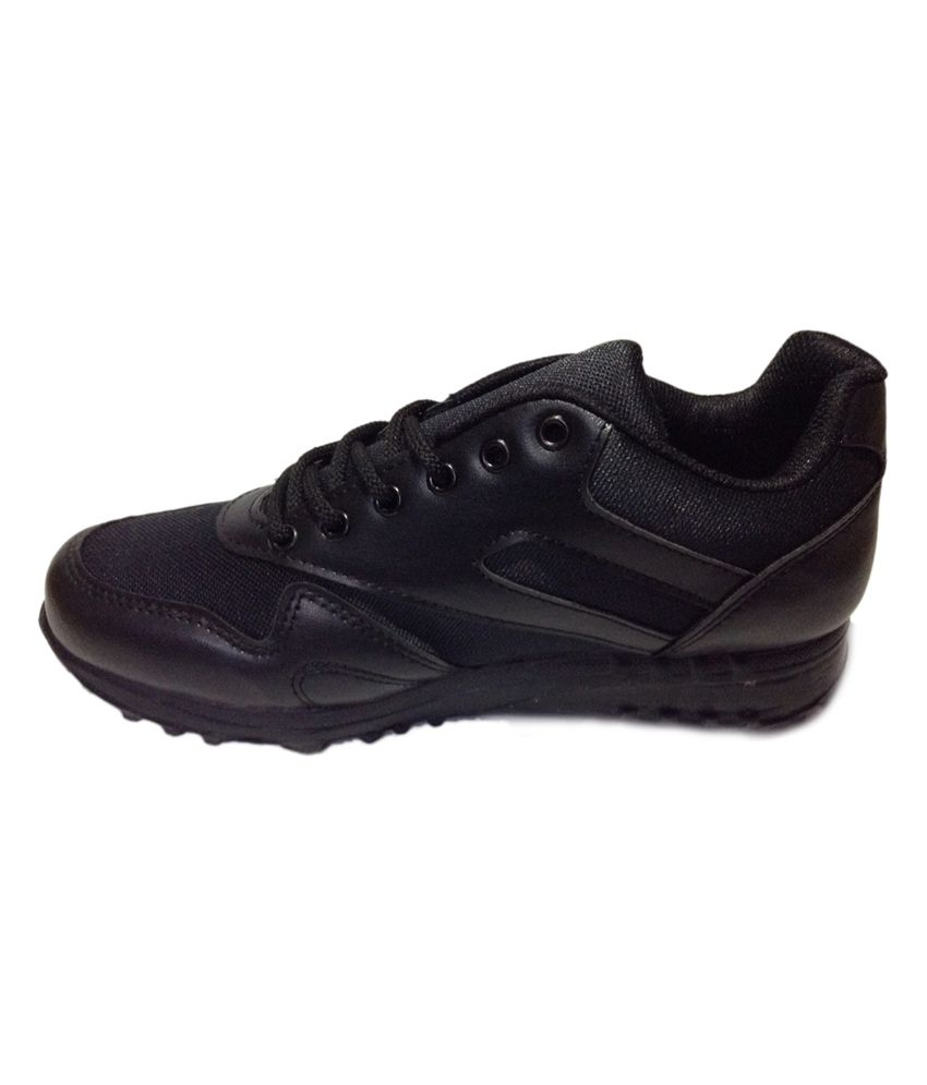 e59ee12db Liberty Black Synthetic Leather Sport Shoes For Men - Buy Liberty ...