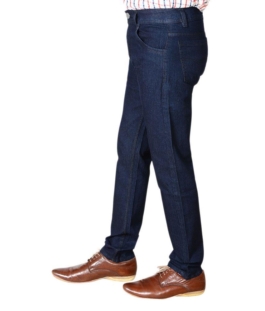 31470656ba4 Flyjohn Trendy Dark Blue Jeans - Buy Flyjohn Trendy Dark Blue Jeans Online  at Best Prices in India on Snapdeal