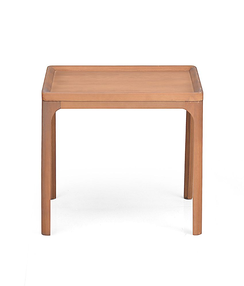 Lombard Side Table - @home Nilkamal,  walnut