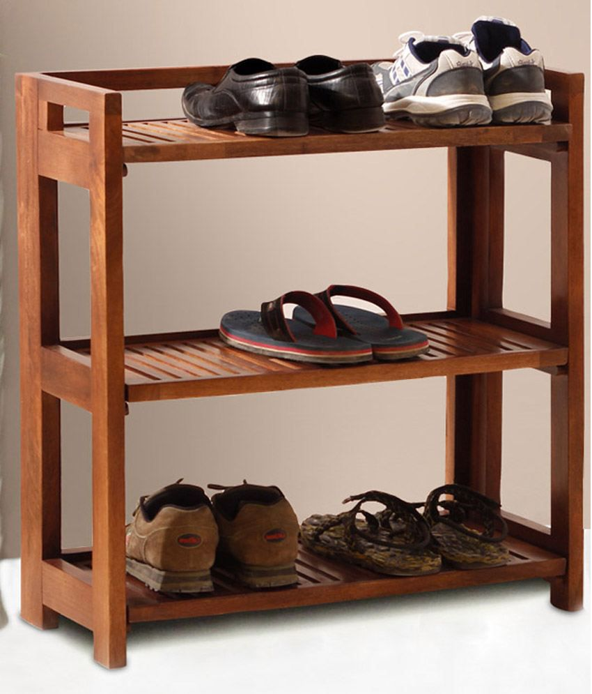 Solid Wood Shoes Rack Solid Wood Shoes