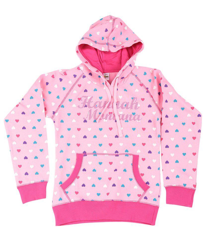 Disney LightPink Graphic Cotton Sweatshirt