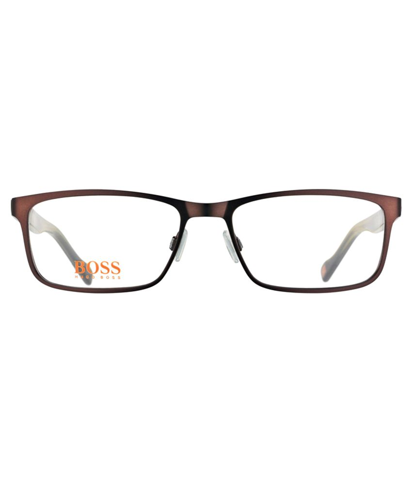 2fdac63f957 BOSS ORANGE BO 0151 6VF Brown Eyeglasses - Buy BOSS ORANGE BO 0151 ...