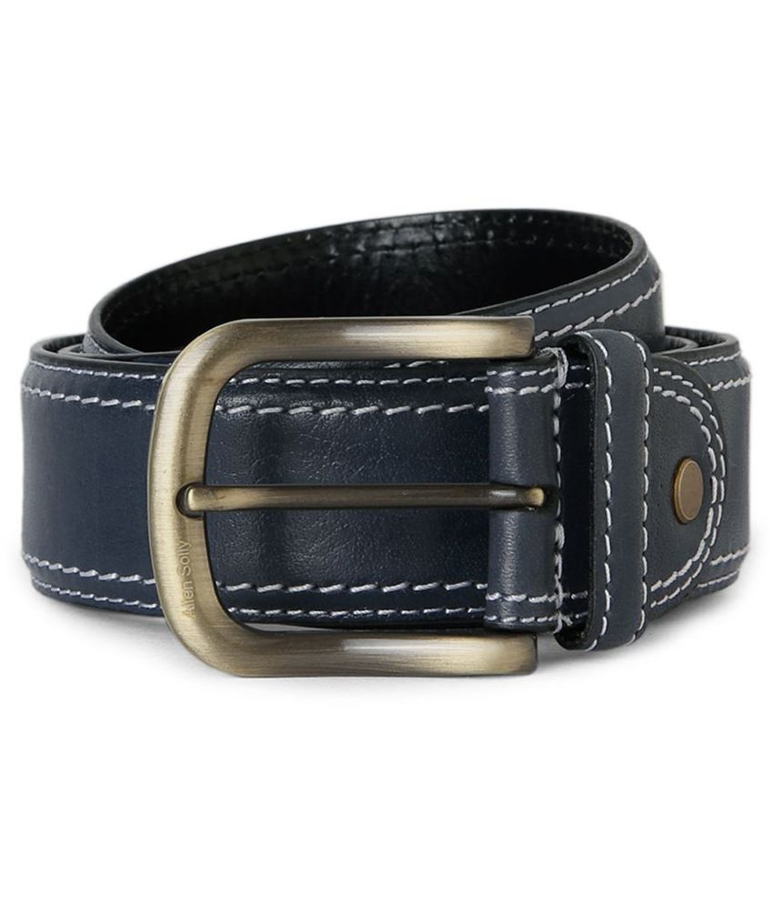 Allen Solly Belt With Top Stitch Detailing