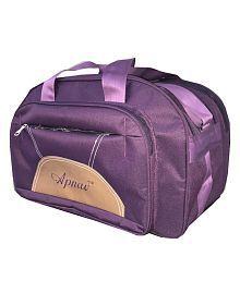 Apnav Polyester Wine Duffle Bag