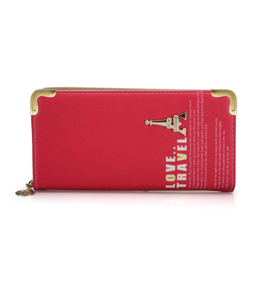 Bags Craze Pink Stylish & Sleek Clutch
