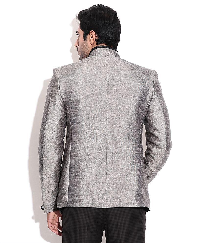 la scoot pista colour jute party wear designer coat buy la scoot