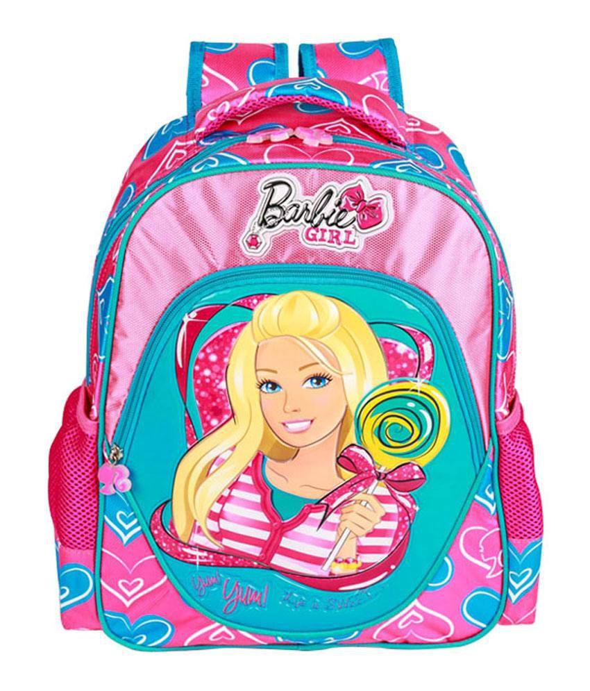School bag for girl - Barbie Girl School Bag 16 Inch