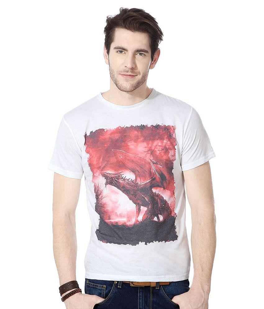 People White Cotton T-shirt