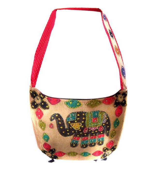 Amer World Store V&a Multicolor Designer Sling Bag