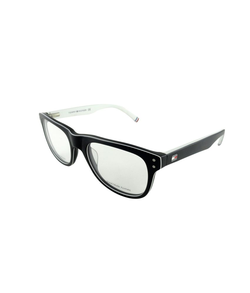 Tommy Hilfiger White Frame Wayfarer Shape Eyeglasses - Buy Tommy ...