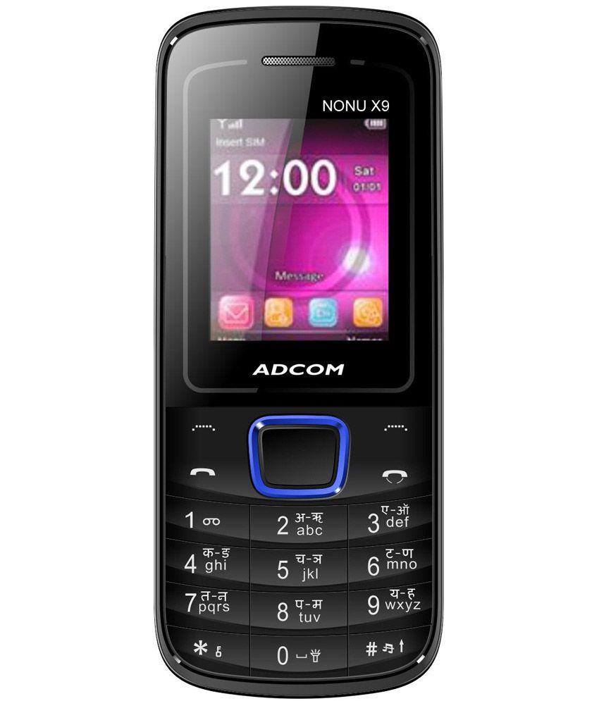 Adcom Gsm Dual Sim Nonu X9 Black