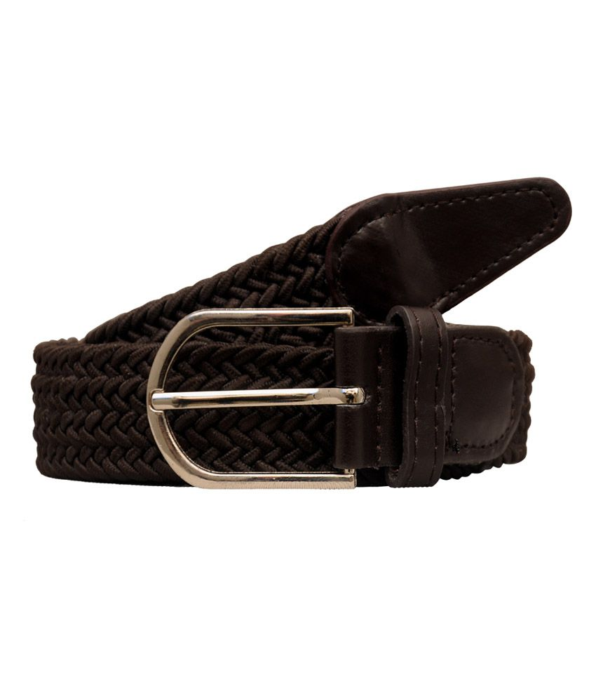 Fashion Factory Brown Casual Belt For Men