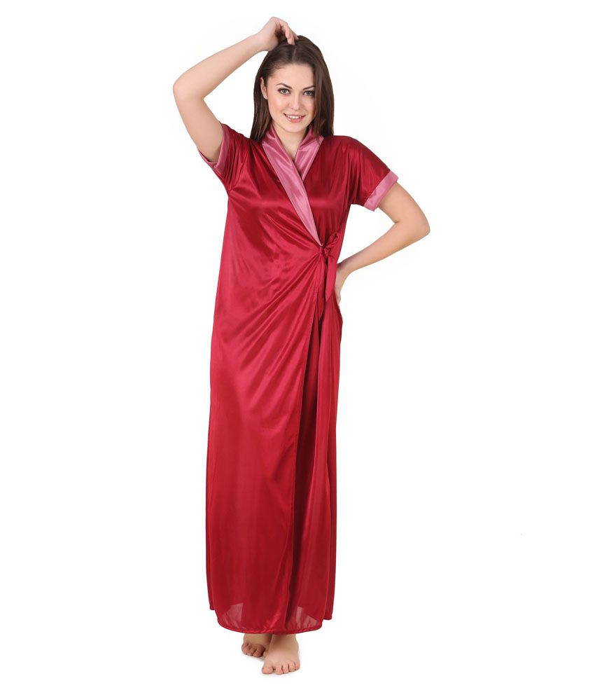 Buy Masha Satin Robes Online at Best Prices in India - Snapdeal ed60cf87a