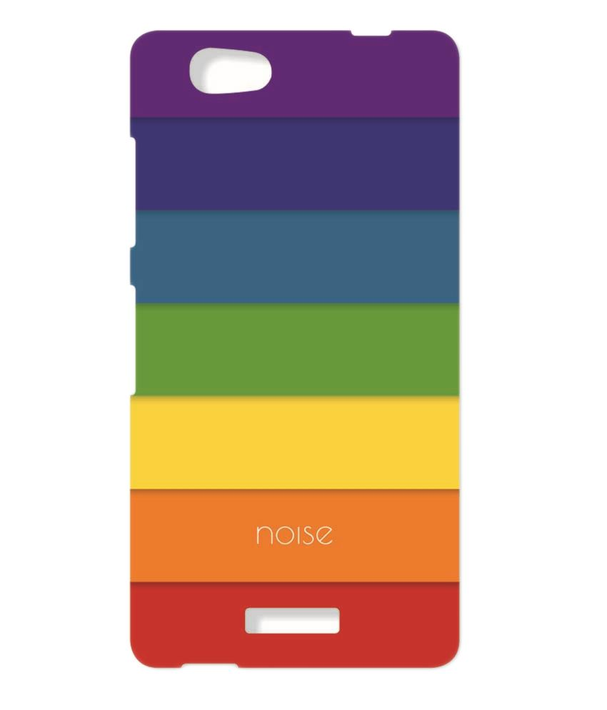 new product db717 1cbdd Rainbow Gionee M2 Back Cover Case Printed Covers by Noise -