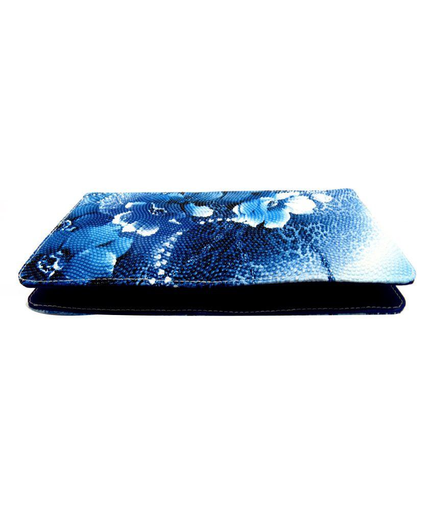 Orchydz Fashionable Blue Zipped Clutch