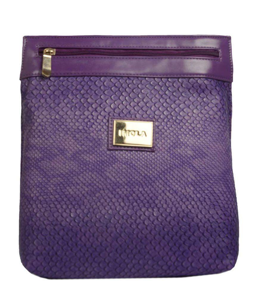 Imola Purple Sling Bag