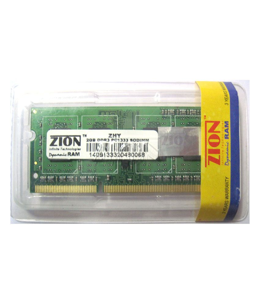 Zion Dynamic 2gb Ddr3 Laptop Ram Buy