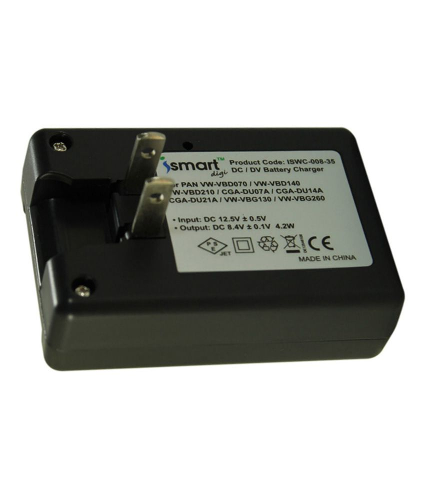 Ismart Camera Battery Charger For Lp e5/bp 85st Black