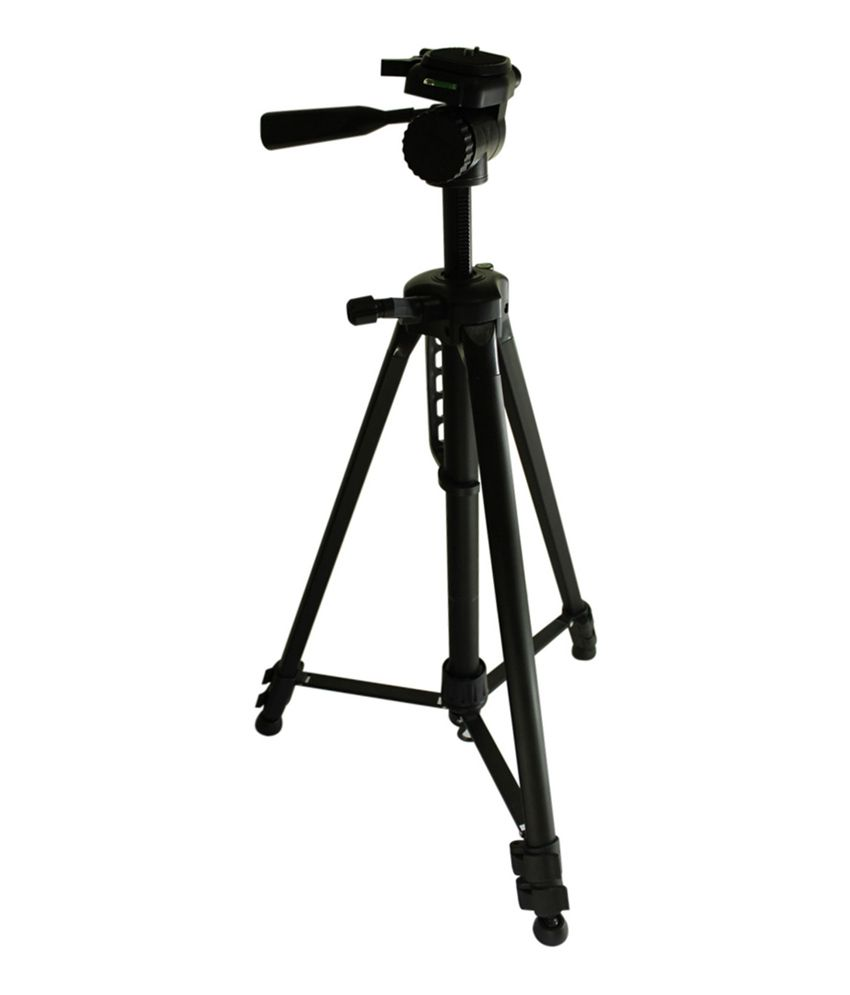 Power Smart Power Smart Professional Camera Tripod Stand Black