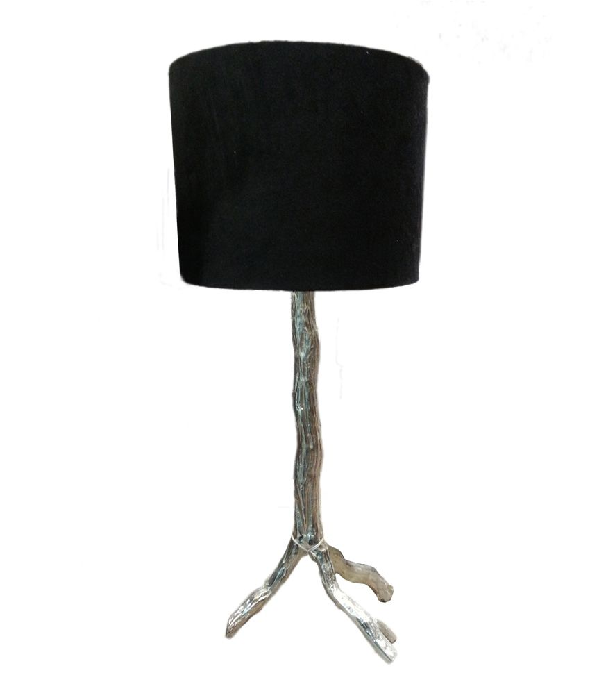 Foyer Table Lamps : Foyer black twig table lamp buy