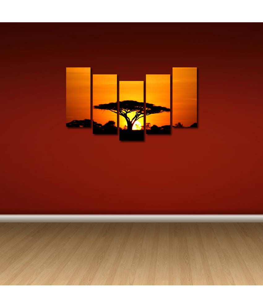 Multiple picture frames Modern 999store Multiple Frames Printed Sun Set Tree Like Modern Wall Art Painting Frames 148 76 Cms Pinterest 999store Multiple Frames Printed Sun Set Tree Like Modern Wall Art