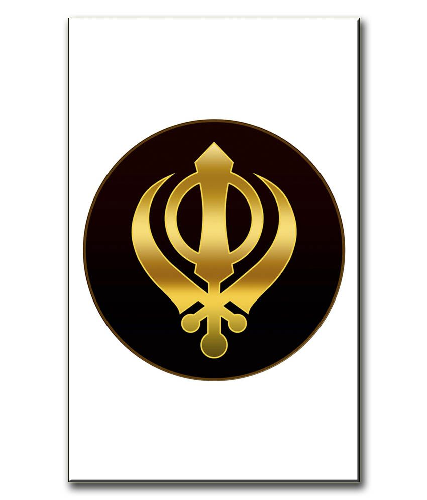 Anwesha's Gallery Wrapped Digitally Printed Canvas Wall Painting 12.5 X 20 Inch - Sikh