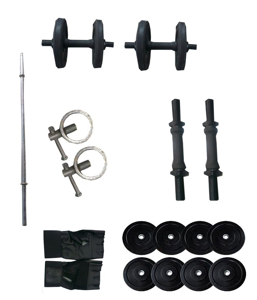 Iris 36 Kg Home Gym Set