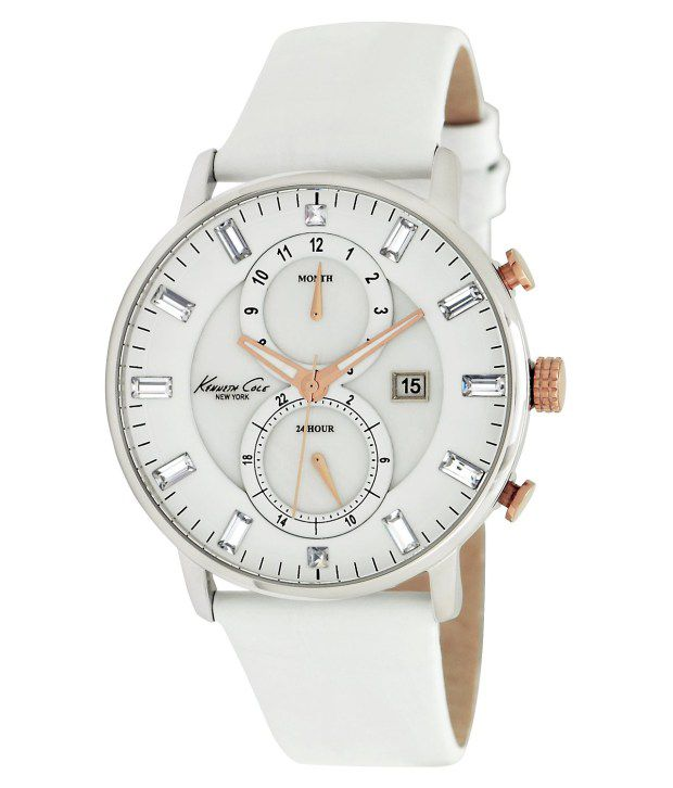 Kenneth Cole Kenneth Cole White Chronograph Watch