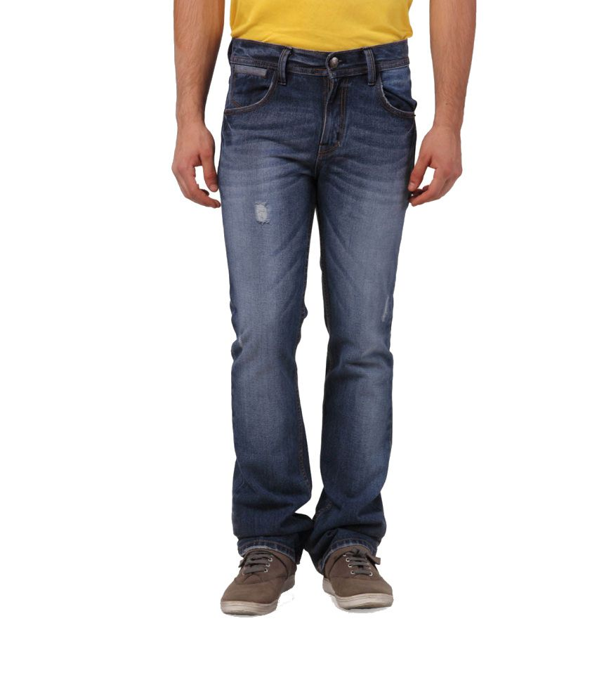 Yepme Blue Regular Jeans