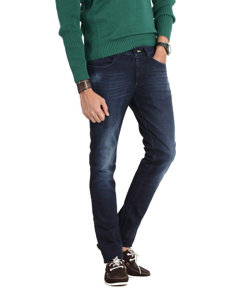 Basics Life Navy Skinny Jeans