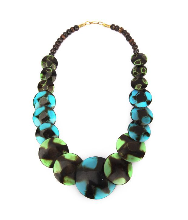 Krishna Exports Multicolour Traditional Necklace
