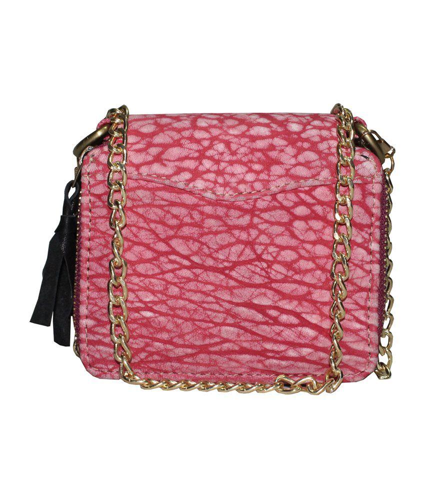 Moda Desire Sp1235 Pink Sling Bags