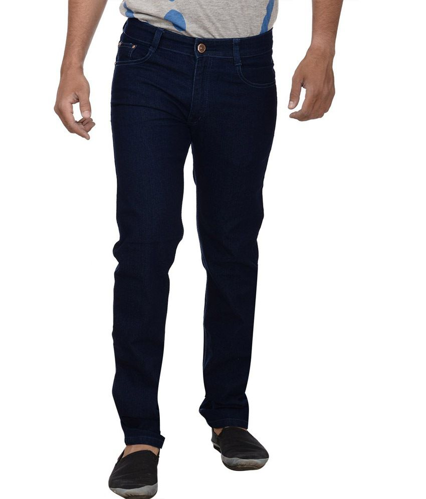 Studio Nexx Raw Blue Men's Regular Fit Jeans
