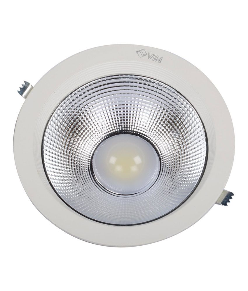 Vin White Round Frame Led Lights-22w: Buy Vin White Round Frame Led ...