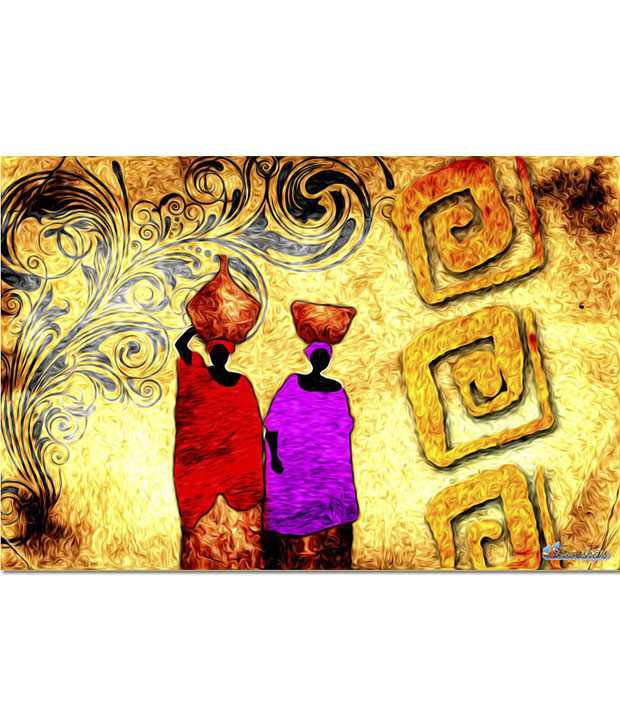 Anwesha's Gallery Wrapped Digitally Printed Canvas Wall Painting 30x20 Inch - 113