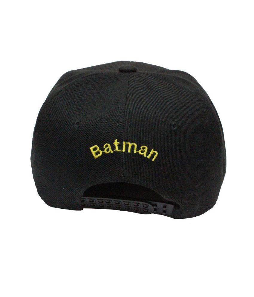 Takeincart Batman Snapback And Hiphop Caps - Black - Buy Online   Rs ... 0bb8adf2ae0f