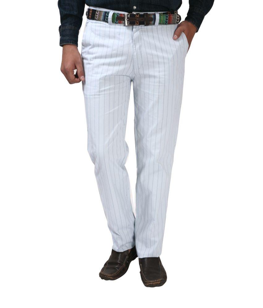 Koutons Blue Flat Trousers
