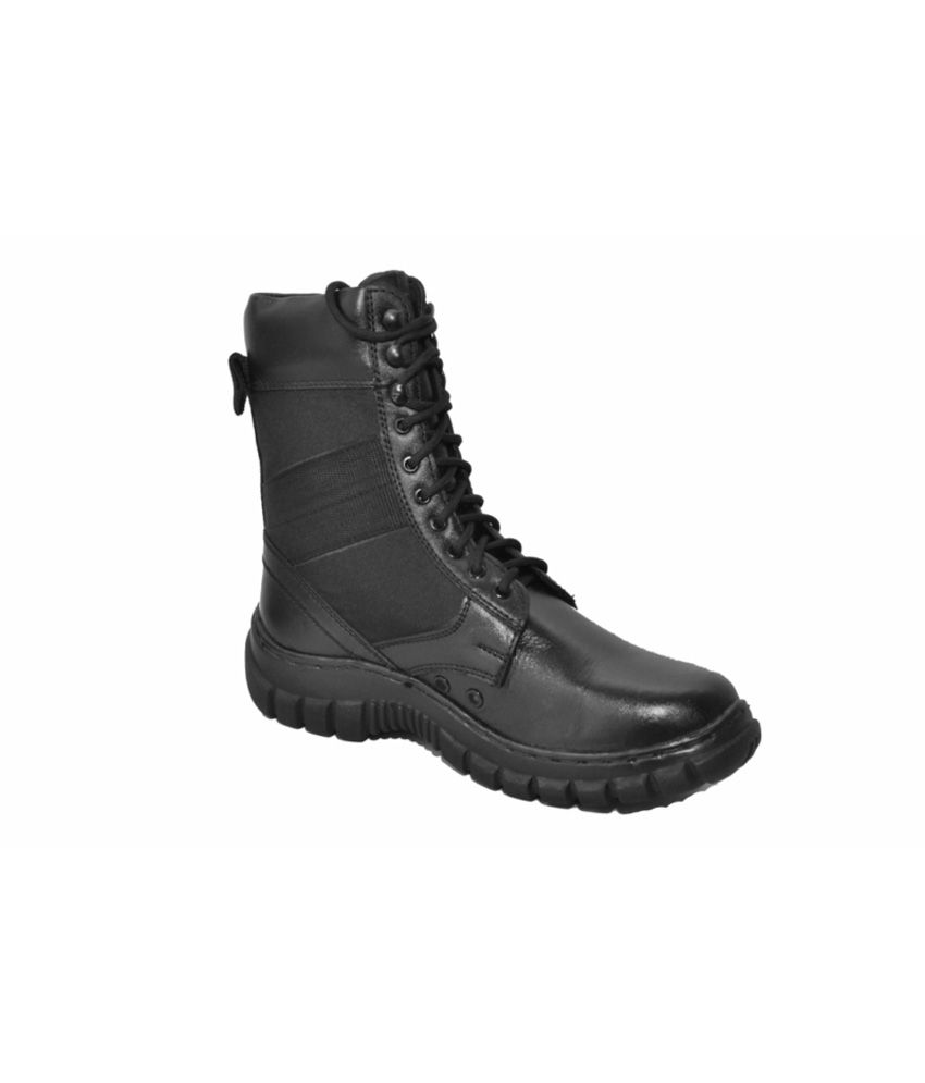 Military Shoes High Ankle Leather Boots