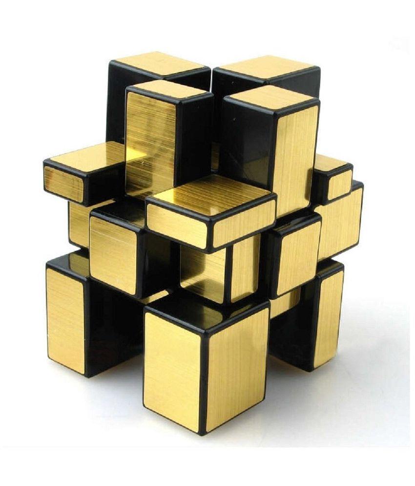 Gold Mirror Cube