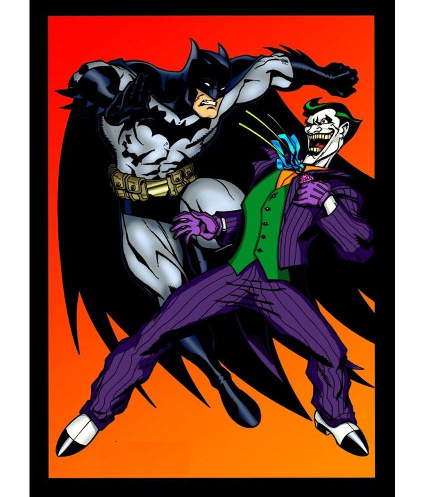 Clickforsign Batman Vs Joker Cartoon Poster Buy