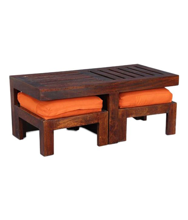 Ethnic India Art Coffee Table Dark Brown Maghony Finish Snapdeal Price Tables Deals At Snapdeal