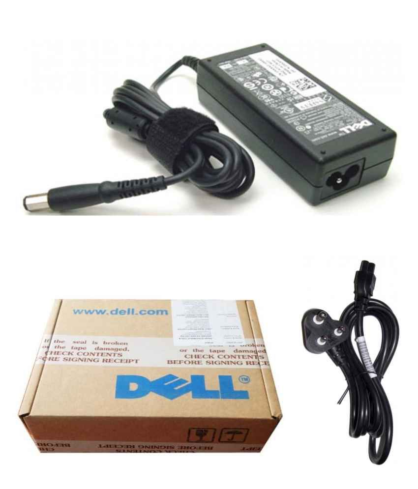 Dell Genuine Original Laptop Adapter Charger 65w 195v 334a Inspiron 14r N4010 13r N3010 15r N5010 Power Cord