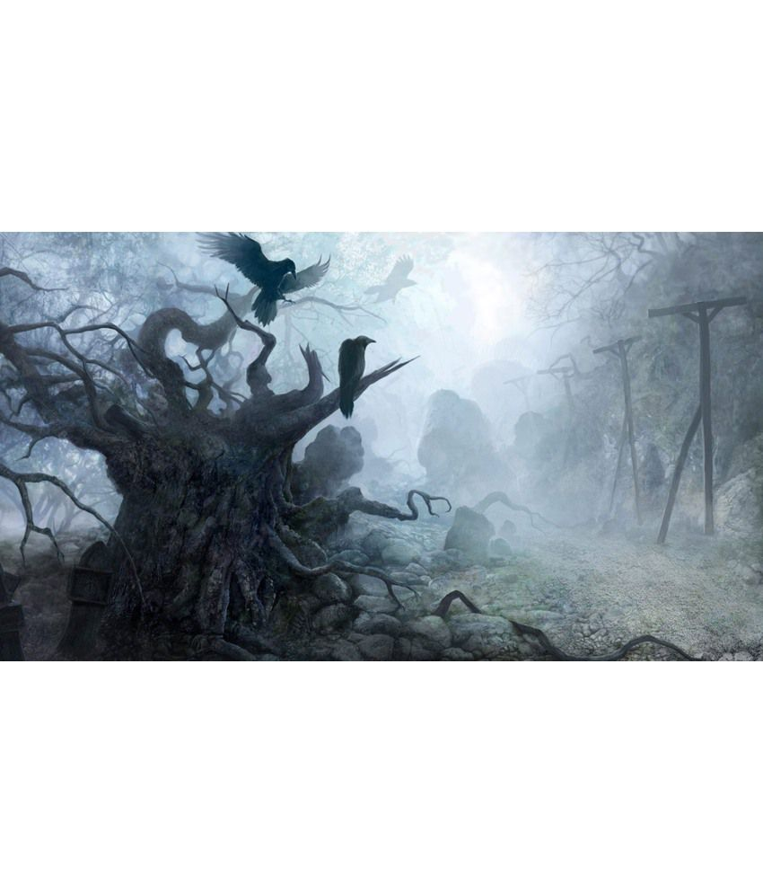 Elite Collection Digitally Printed Frameless Canvas Painting Fantasy-7